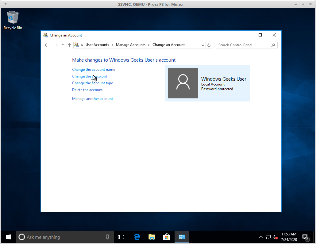 How To Reset A Local Windows 10 Administrator Password